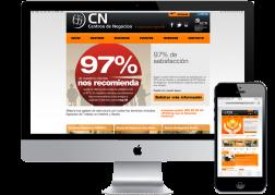 Diseño y Desarrollo del Website del CNCentrosdeNegocios.com © 2013