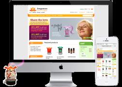 Diseño y desarrollo de la tienda online FragranceLights.com (Prestashop eCommerce site) © 2012