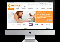 Diseño y desarrollo de la web de Walmeric en Wordpress © 2011