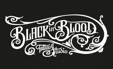 Isotipo para Black in Blood estudio de tatuaje barcelona