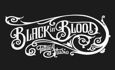 Isotipo para Black in Blood estudio de tatuaje barcelona