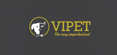 Isotipo de servicios VIP para mascotas