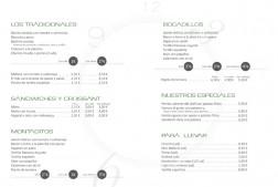 diseño de impresos de la carta de menu para los restaurantes daily