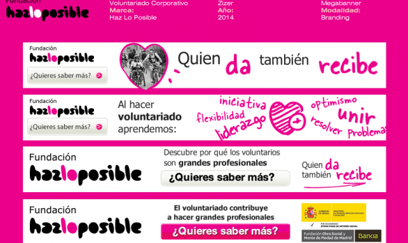 Campaña Banners SEM (display) para la ONG Hazlo Posible