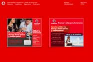 Displays campaña Autonomo Vodafone, agencia: Walmeric