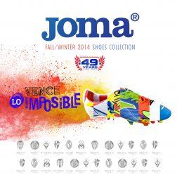 campaña ATL para zapatillas Joma publicidad agencia comunicacion branding fotografia