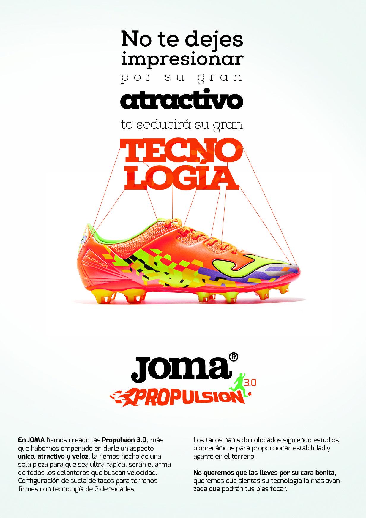 Campa A De Publicidad Para Productos Joma Brandesign