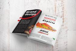 Brandesign agencia creativa madrid diseñador gráfico diseño gráfico publicidad arte final revista magazine