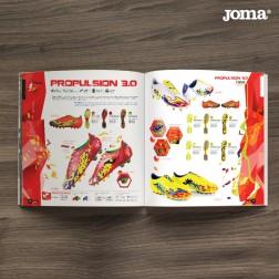 mockup de diseño de revista