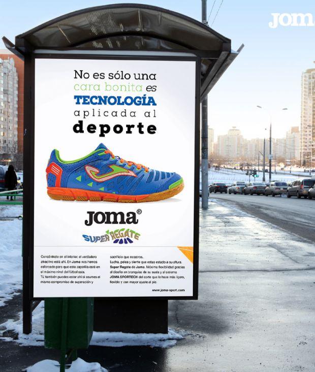 Conceptualización y Producción Creativa para Joma