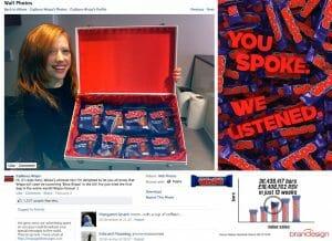 Casos de éxito de como el social media es rentable para las marcas y sus empresas Cadbury's Wispa en Facebook
