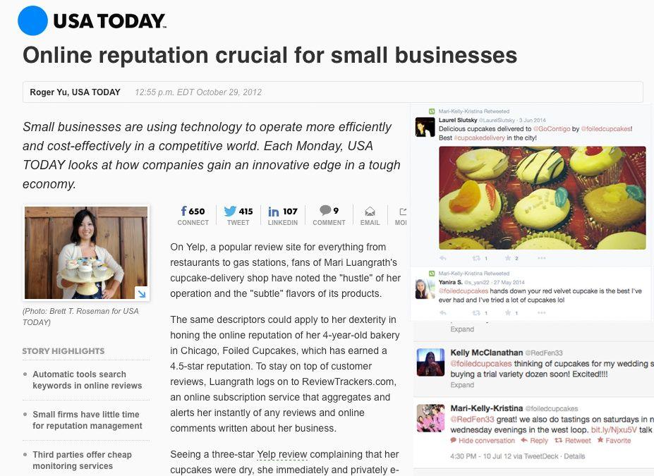 La reputación online es crucial para los pequeños negocios
