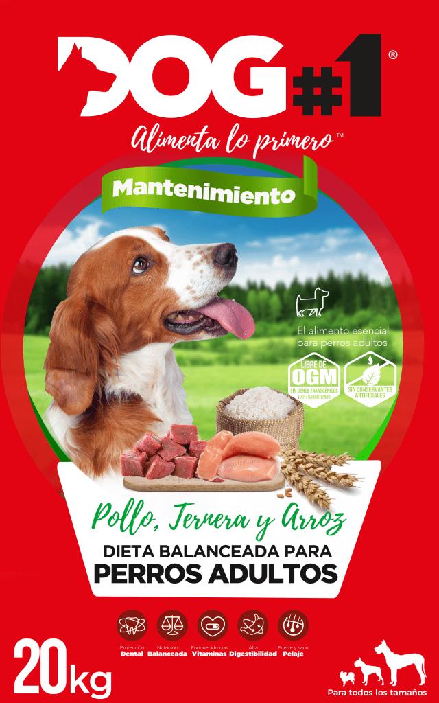 Diseño de packaging para producto de alimentacion FMCG pienso dog#1