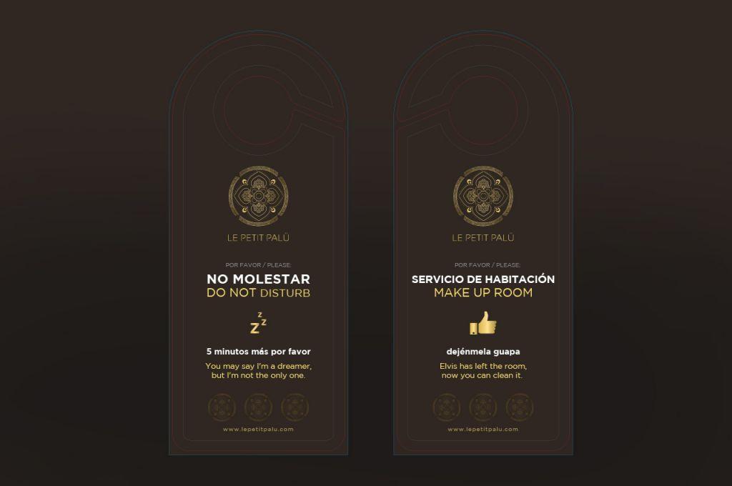 Identidad corporativa para hoteles diseño branding creativo innovador