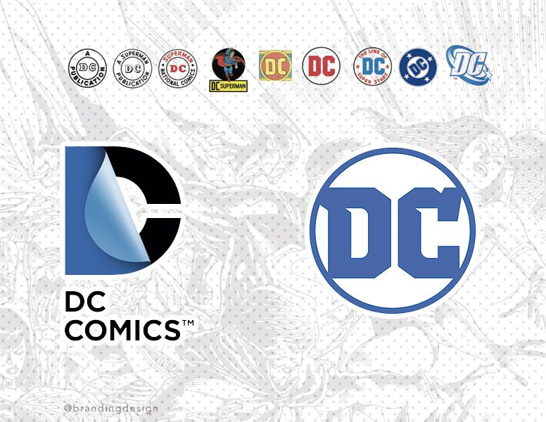 """Una evolución """"retro"""" para el nuevo logotipo de DC comics"""