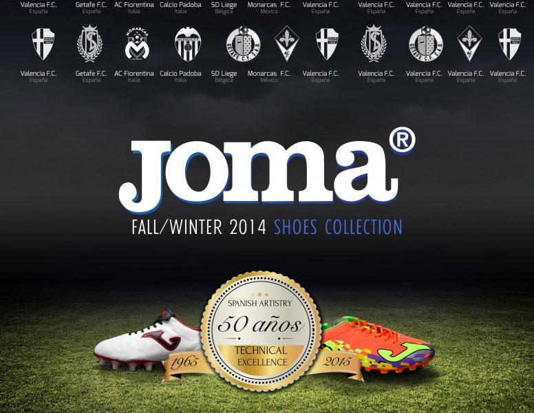 diseño portada catalogo de productos Joma Brandesign madrid creativa agencia impresión publicidad