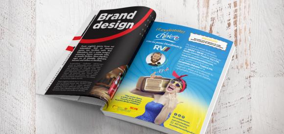 Diseño Gráfico para Anuncio de Revista