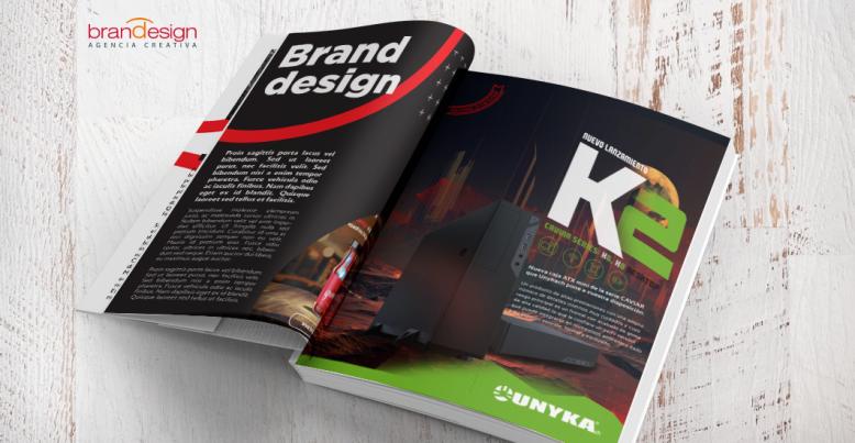 Diseño de Anuncios para Revistas y Magazine UNYKAch