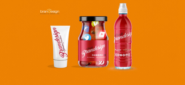 botella diseño de etiqueta agencia creativa madrid branding
