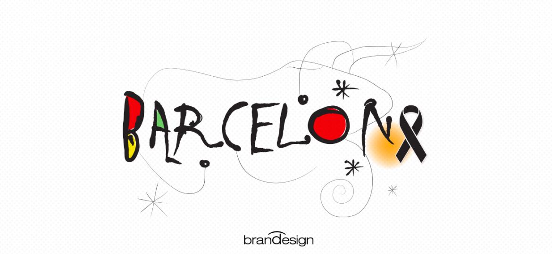 ilustraciones memes y creatividad son el mensaje a barcelona en tiempos de paz Brandesign agencia creativa