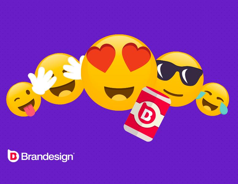 El uso de emojis para aumentar el engagement de una marca branding design