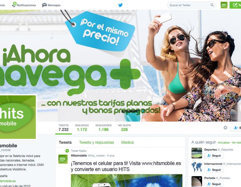 Diseño del Canal Twitter Personalización de Marca