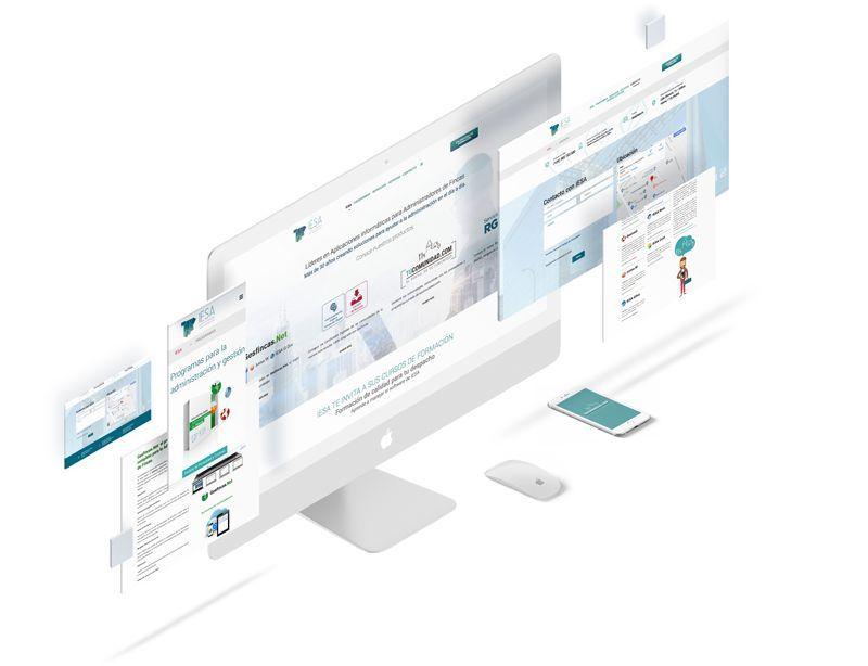 Desarrollo de la nueva página web de IESA bajo Wordpress Portafolio Brandesign Agencia Creativa