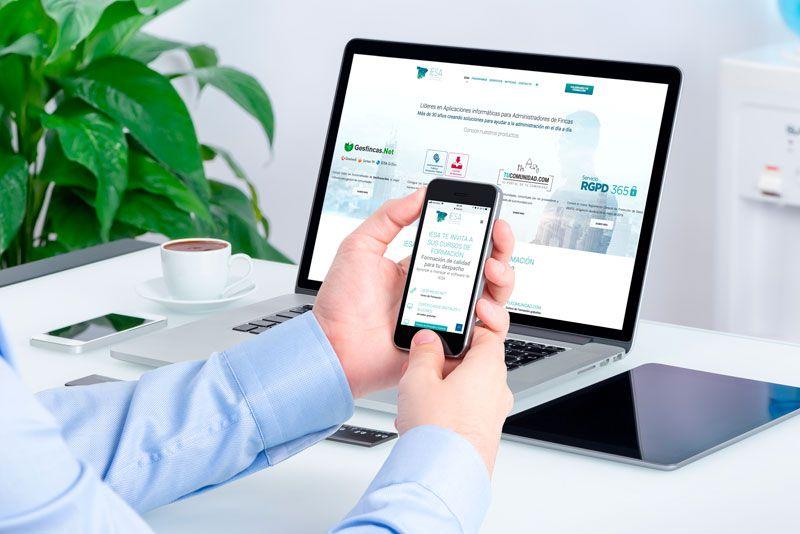 nueva web de Iesa desarrollada por Brandesign agencia creativa madrid