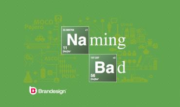 Los errores de un mal naming, un mal nombre de marca Brandesign agencia de branding
