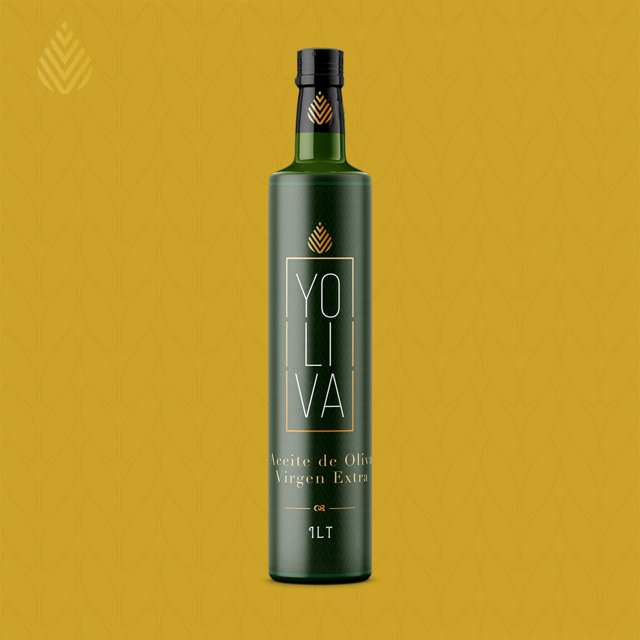 Botella de Aceite de Oliva Virgen extra diseño gourmet label etiqueta botella brandesign