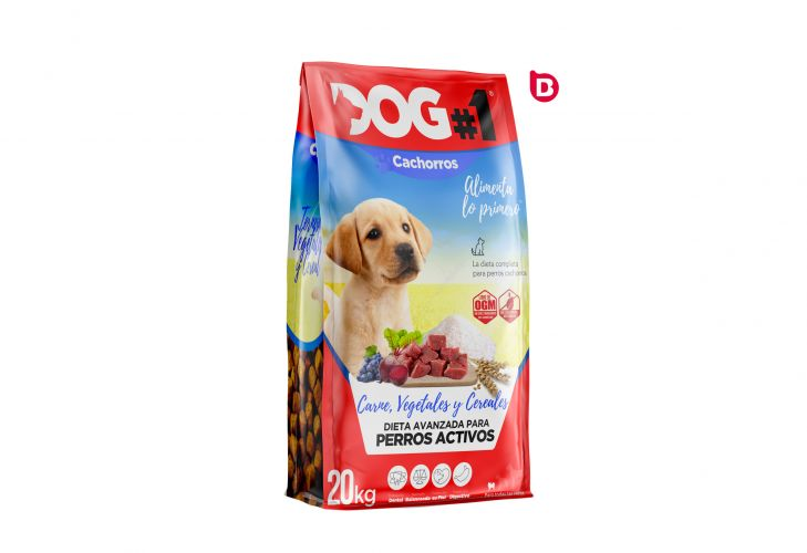 Diseño del Packaging de Dog#1