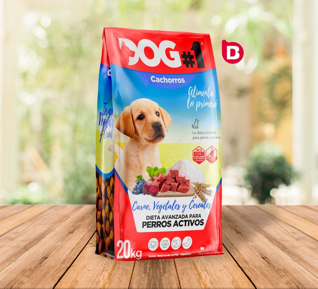 Diseño del Packaging de Dog#1