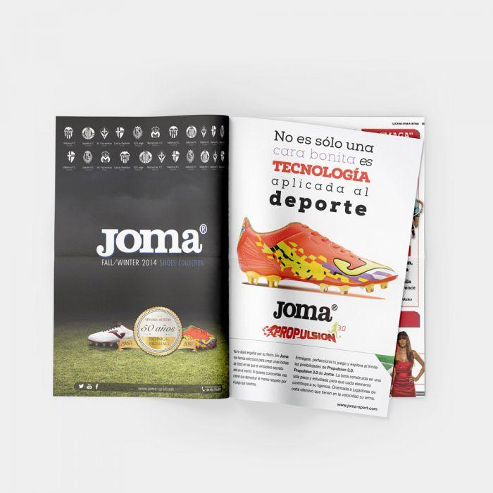 Anuncio de revista campañas de publicidad