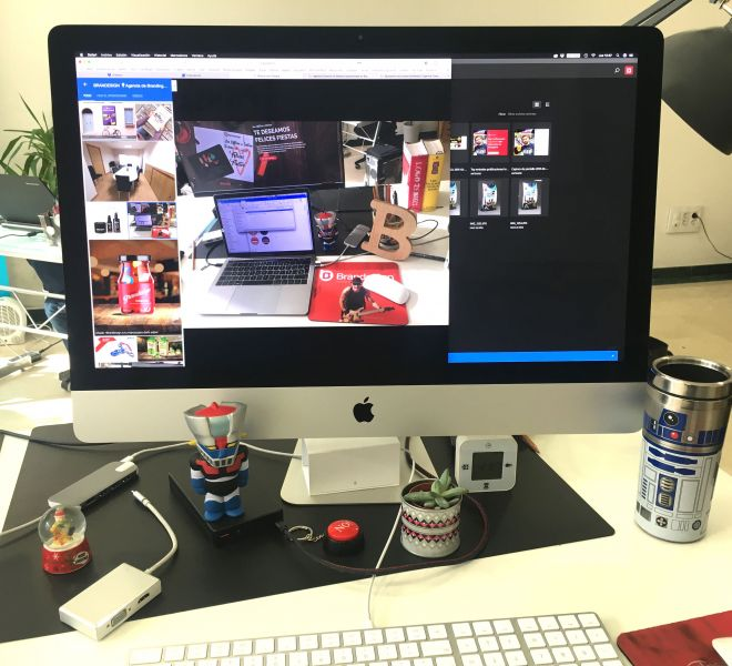 Fotos de las Oficinas y del equipo que integran Brandesign agencia creativa y Branding