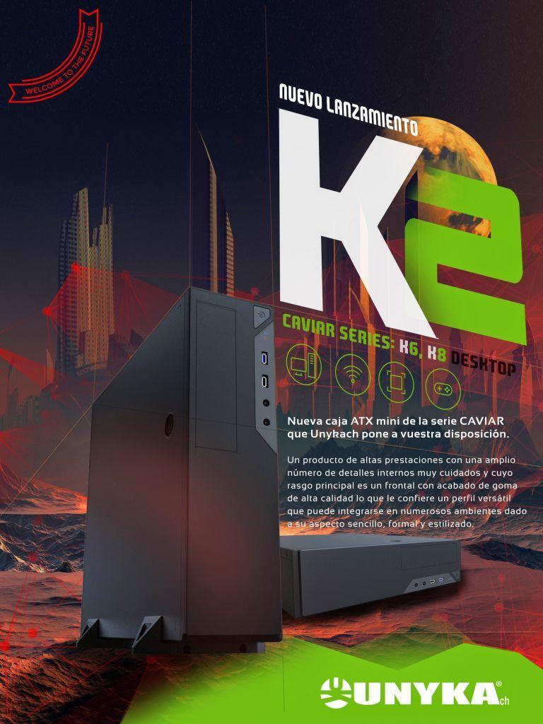 Diseño de Anuncio de Revista para publicidad de UNYKach