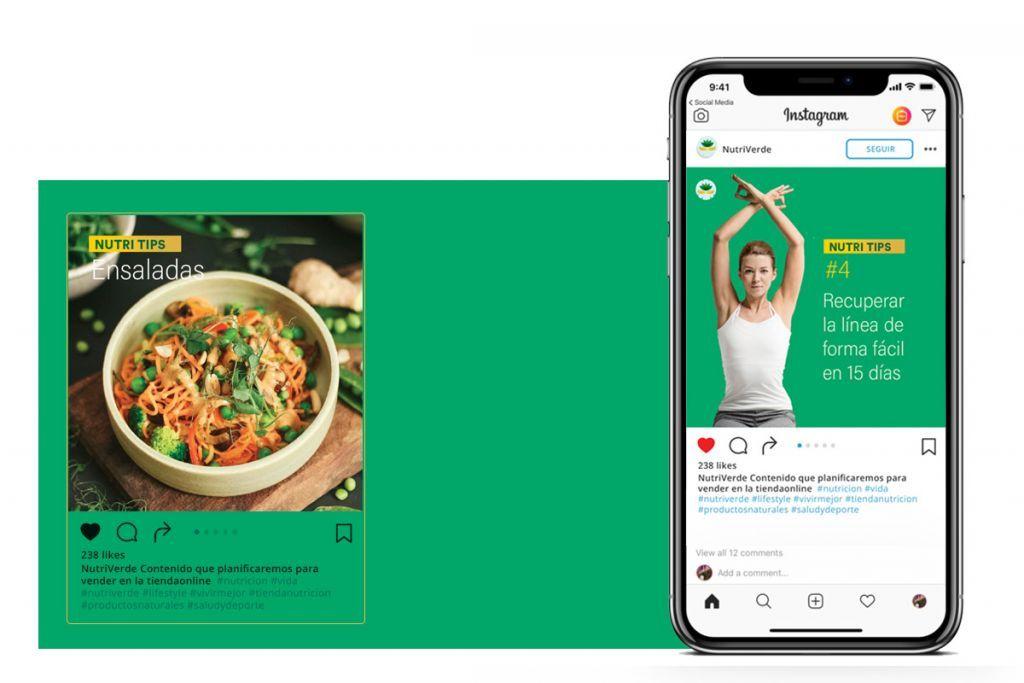 Producción de contenidos creativos para redes sociales para tu marca