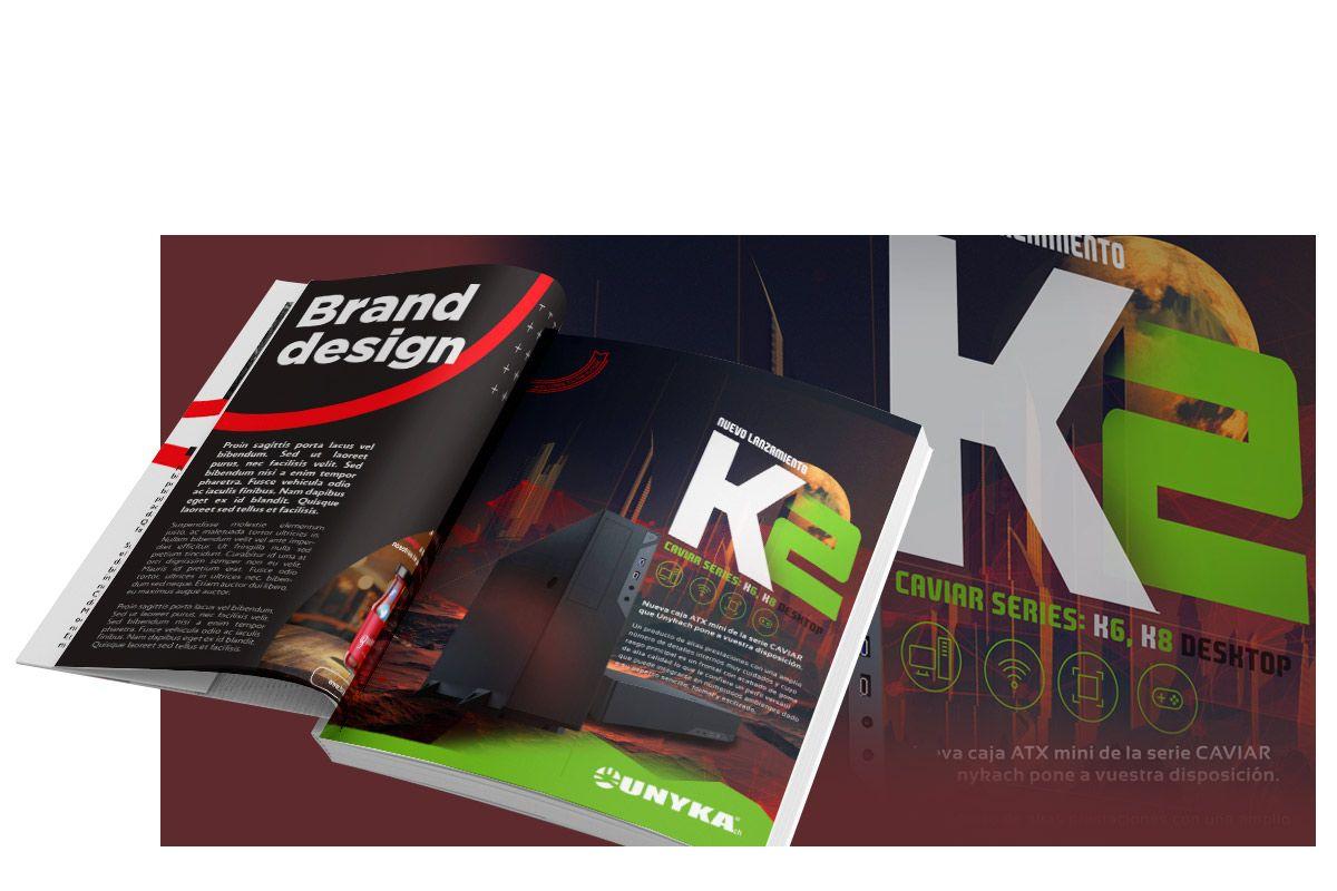 Servicio profesional de diseño gráfico en madrid y estudio creativo