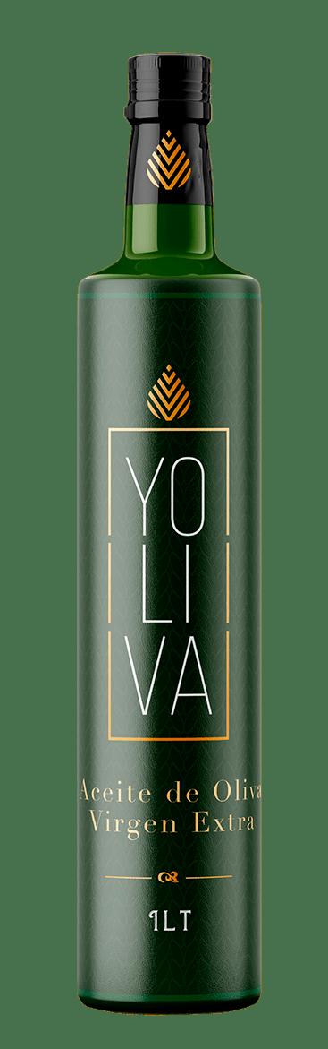 Propuesta de Diseño para la etiqueta de Aceite de Oliva Virgen Extra Yoliva © 2019, Brandesign
