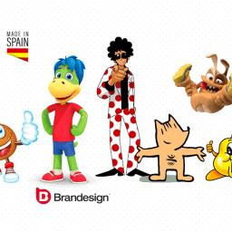 Las mascotas de marcas made in spain hechas en España branding design