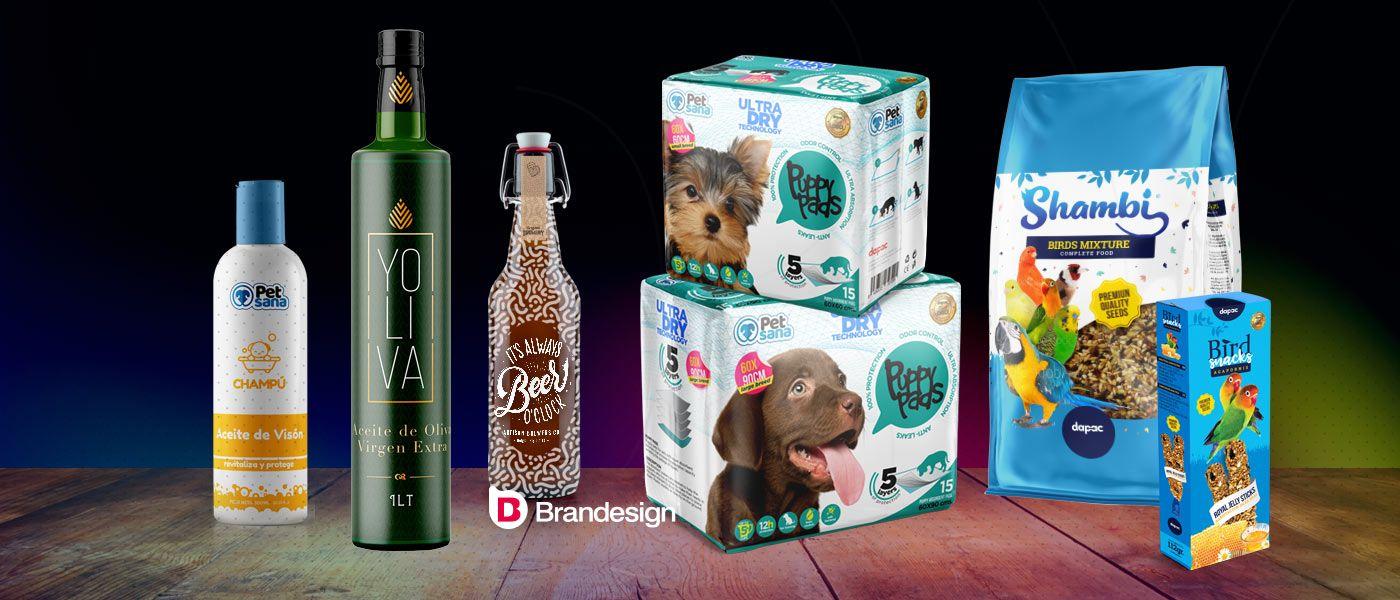 Diferencias entre packaging y labeling envases y etiquetas envases cajas productos agencia de branding madrid