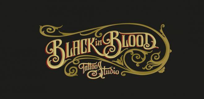 marca blackinblood Diseño de logotipo logos para tu empresa estudio de diseño madrid branding identidad corporativa