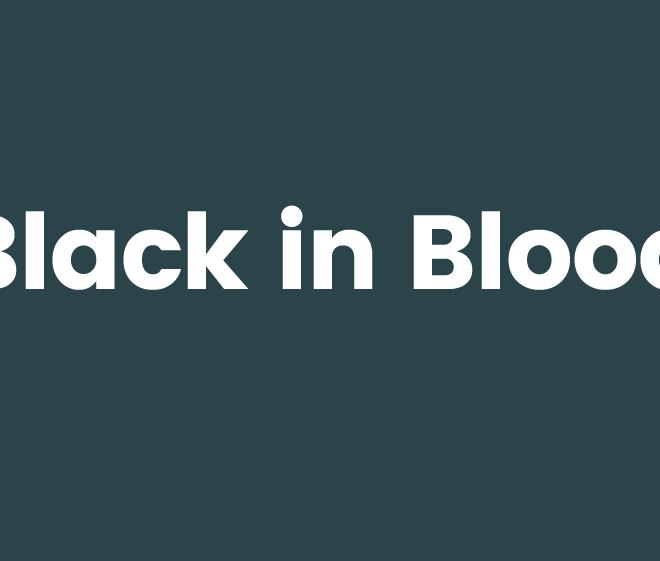 Black in Blood nombre para estudio de tatuajes