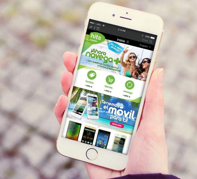 Vista de pantalla app operador movil