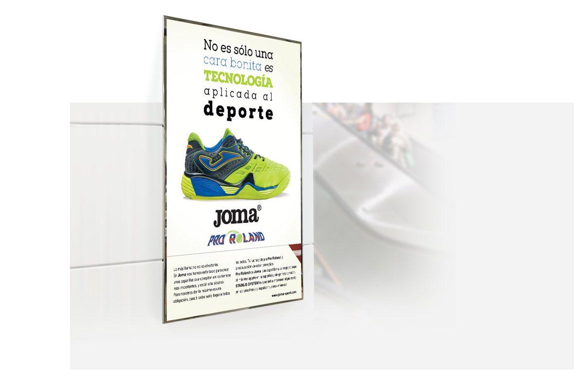 Campaña de publicidad offline metro de madrid Brand design