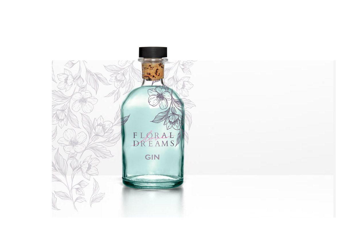 Diseño de etiquetas para botellas serigrafía agencia Branding madrid