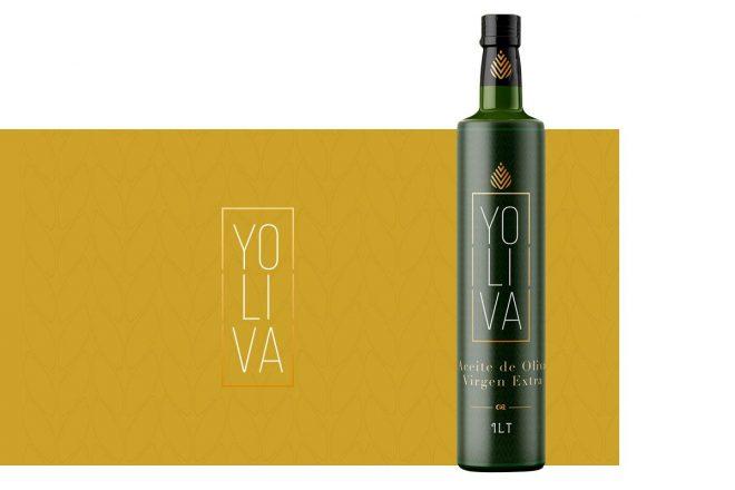 Diseño de etiqueta de Aceite de Oliva Virgen Extra Packing madrid