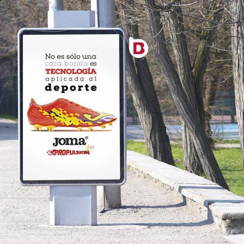 Campañas de Publicidad y Creatividad para Joma