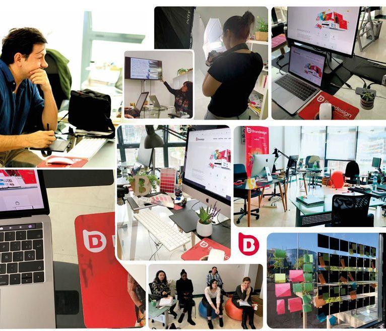 Brand design agencia creativa madrid