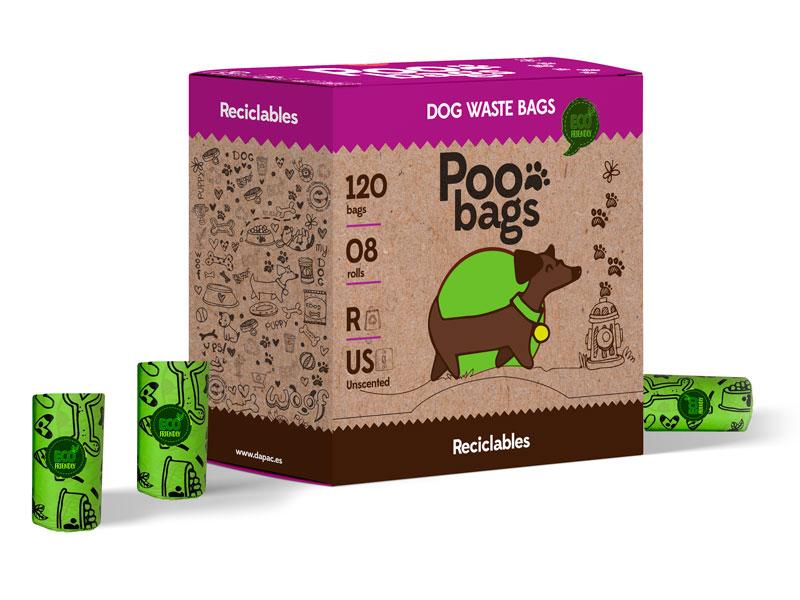 diseño de productos con material y papel reciclado