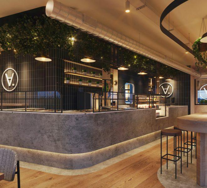 Diseño de identidad corporativa restaurante madrid